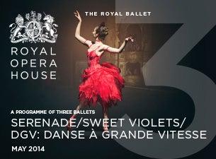 Serenade Mixed Bill - Royal Opera HouseTickets