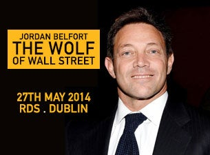Jordan Belfort Tickets