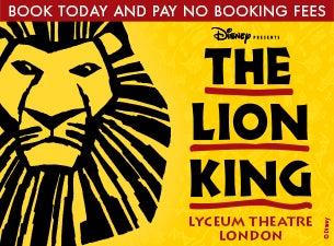 Disney Presents The Lion King Tickets