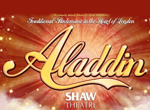 Aladdin - Shaw Theatre Tickets