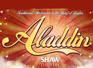 Aladdin - Shaw TheatreTickets