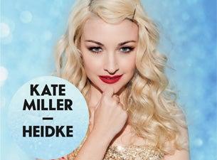 Kate Miller-HeidkeTickets