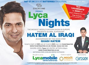 Hatem Al Iraqi Tickets