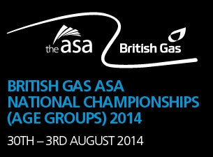 British Gas ASA National Age Group Championships Tickets