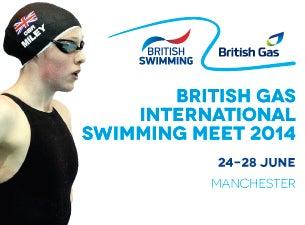 British Gas International Swimming MeetTickets