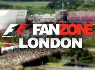 F1 FanZone London 2014 Tickets