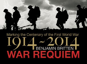 Britten's War Requiem Tickets