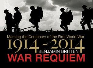 Britten's War RequiemTickets