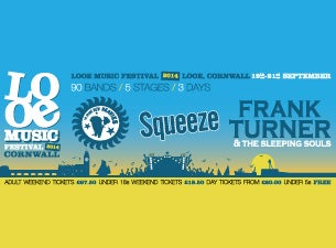 Looe Music FestivalTickets