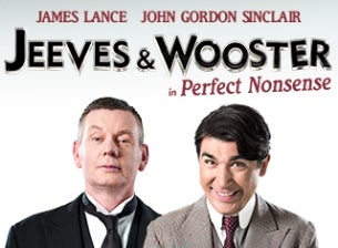 Jeeves and Wooster Tickets