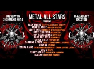 Metal All StarTickets