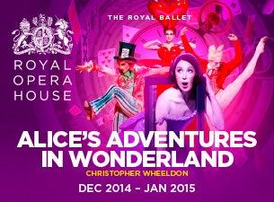 Alice's Adventures In WonderlandTickets