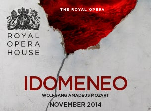 Idomeneo - Royal Opera House Tickets
