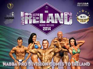 Nabba Mr.ireland Tickets
