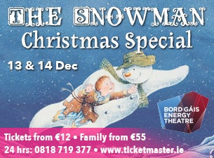 The Snowman Christmas Special Tickets