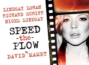 Speed the Plow Tickets