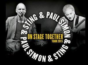 Paul Simon & StingTickets