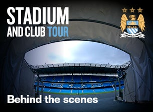 Manchester City Football Club Stadium & Club Tours Tickets