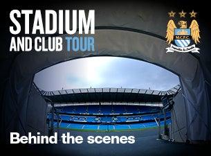 Manchester City Football Club Stadium & Club ToursTickets