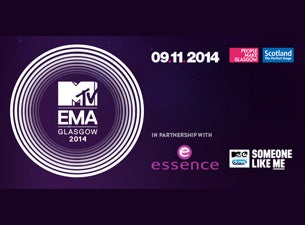 MTV EMA Tickets