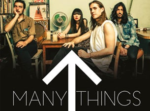 Many Things Tickets