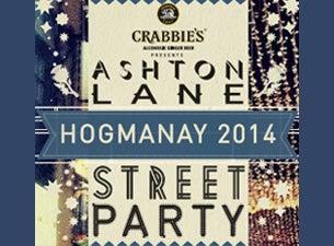 Ashton Lane Hogmanay Street PartyTickets