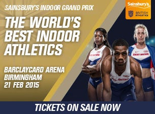 Sainsbury's Indoor Grand Prix Tickets