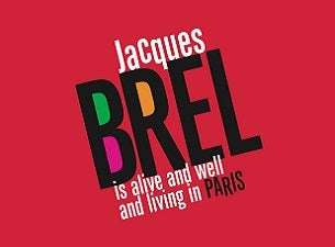 Jacques Brel Tickets