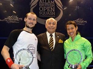 Allam British Open Squash ChampionshipsTickets