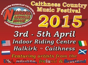 Northern Nashville Caithness Country Music Festival Tickets