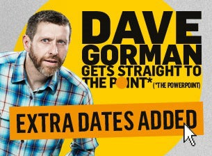Dave Gorman Tickets
