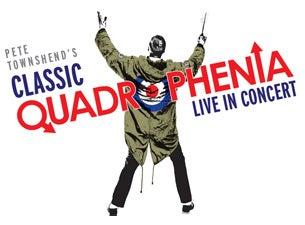 Pete Townshend's Classic QuadropheniaTickets