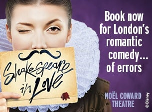 Shakespeare In Love Tickets