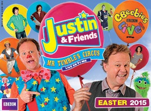 CBeebies Live! Presents Justin & Friends Tickets