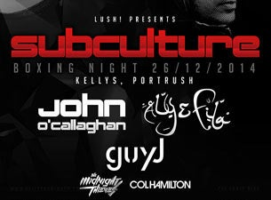 Subculture Tickets