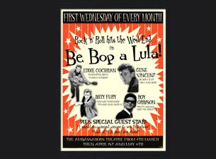 Be Bop a Lula Tickets