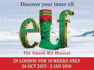 Elf the MusicalTickets