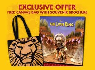 Lion King BrochureTickets