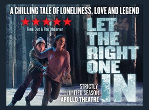 Let the Right One In Tickets