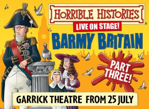 Horrible Histories - Barmy BritainTickets