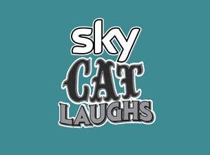 Sky Cat Laughs