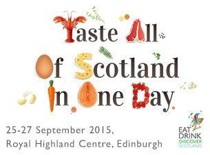 Eat Drink Discover ScotlandTickets