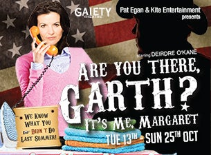 Are You There Garth? It's Me, Margaret Tickets