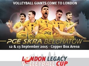 London Legacy Volleyball Cup Tickets