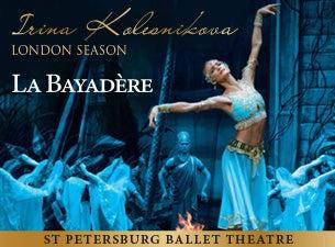 La Bayadere - St Petersburg Ballet Theatre - Irina Kolesnikova SeasonTickets