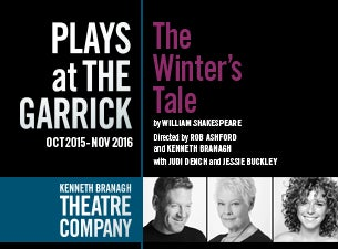 The Kenneth Branagh Theatre Company - the Winters Tale Tickets