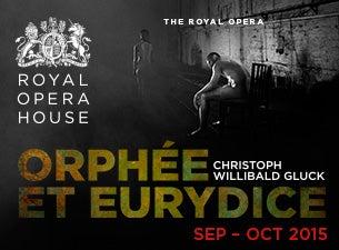 Orphee et EurydiceTickets