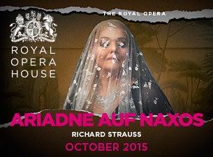 Ariadne auf NaxosTickets