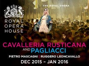 Cavalleria rusticana/Pagliacci TicketsTickets