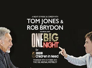 One Big Night for BBC Children in Need Tickets